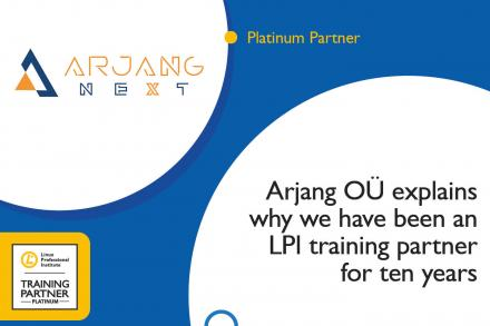 Arjang OÜ: Why we have been an LPI training partner for ten years