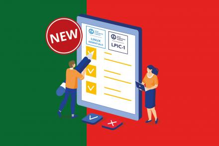 Linux Essentials and LPIC-1 exams available online in Portuguese