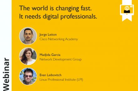 The World is Changing Fast: It needs digital professionals