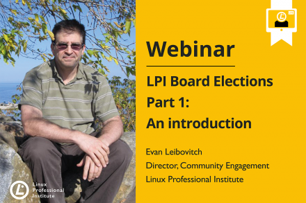 Webinar LPI Board Elections part 1 with Evan Leibovitch