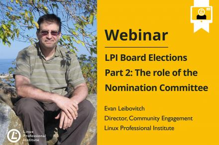 Webinar The Role of the Nomination Committee with Evan Leibovitch