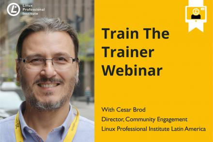 Webinar announcement image with Cesar Brod